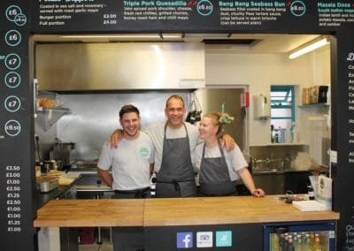 The Pass Street Food Cafe - The Team